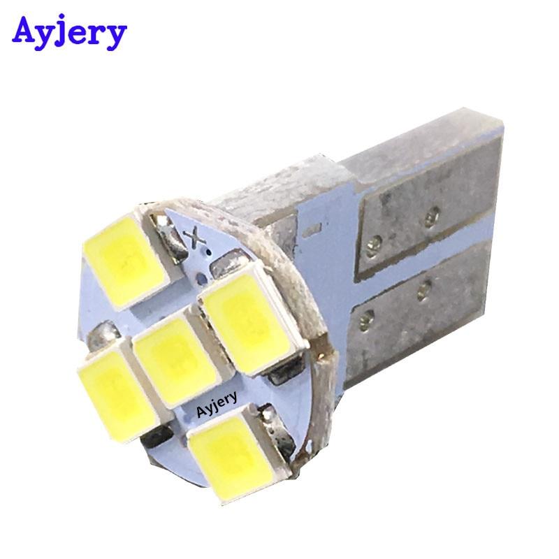 AYJERY 1000X White T10 PCB 194 168 W5W 3528 1210 5 SMD LED Reading Light Car