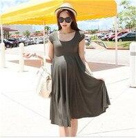 лето осень весна ценообразования для беременных платье petal вилла размер платья платья Берман женщины для беременных топы одежда