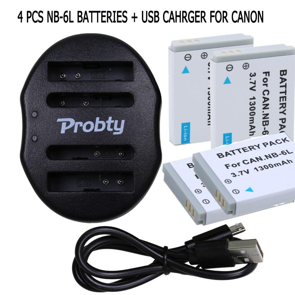 Nb6l NB-6LH зарядное устройство + NB-6L цифровых батареи для Canon SX520 уг SX530 SX600 SX610 SX700 SX710 IXUS 85 95 200 210 105 камеры