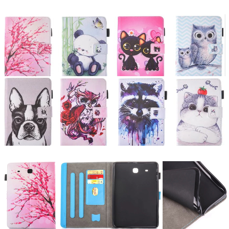 Fashion cartoon Flip PU Leather sFor Samsung Galaxy Tab E 9.6 Case For Samsung Galaxy Tab E T560 SM-T560 T561 Smart Cover Cases fashion cartoon flip pu leather sfor samsung galaxy tab e 9 6 case for samsung galaxy tab e t560 sm t560 t561 smart cover cases
