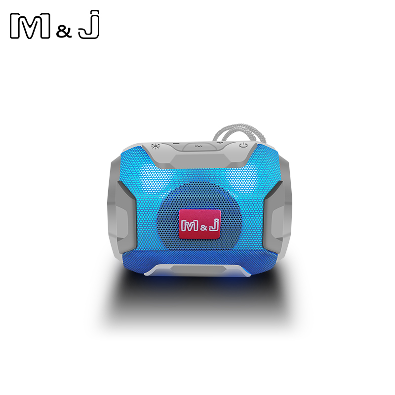 M&J Mini Wireless Bluetooth Speaker With LED TF Support USB Sub Woofer And Mp3 Stereo Audio Music Player 14