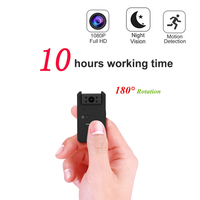 Working 10 Hours 1080P Infrared Night Vision Mini DV Camera Nanny Digital Micro Cam Motion Detection