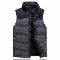 Tengo New Fashion Autumn Winter Men 70 White Duck Down Vest High Quality Male Casual Sleeveless