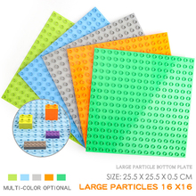 Big Size Duple Building Blocks Base Plates Toys Compatible Legoed Duploe Figure BasePlates Kids Bricks