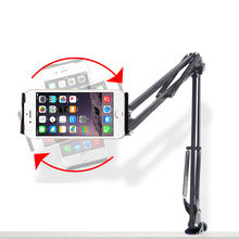 Free shipping B.O.W Mobile phone stand lazy stent bed head For ipad flat stand multi-function desktop stand universal