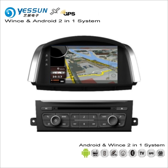 YESSUN For Renault Koleos / Samsung QM5 2007~2015 Car Android Radio CD DVD Player GPS Navi Navigation Audio Video Stereo System