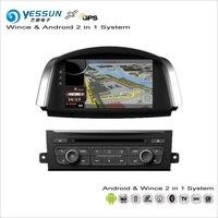 YESSUN For Renault Koleos / Samsung QM5 2007~2015 Car Android Radio CD DVD Player GPS Navi Navigation Audio Video Stereo System