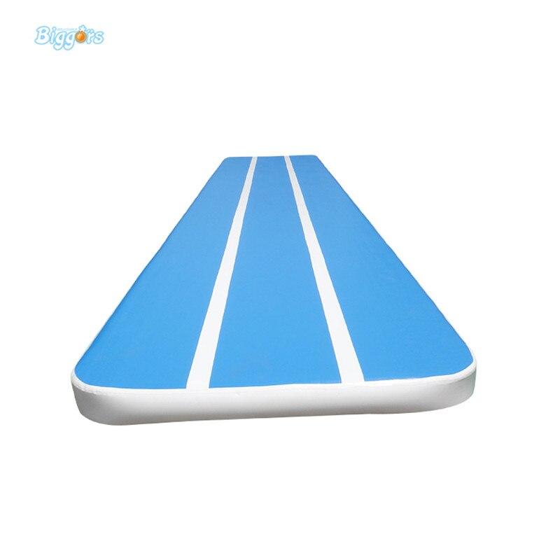 6m Gymnastics air jumping race track Mattress inflatable tumbling inflatable gymnastics air track jump mats