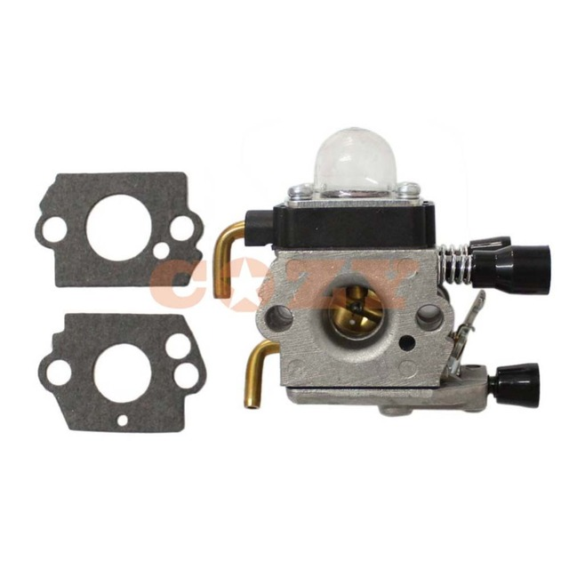 US $11 99 |Carburetor and Gasket For Stihl FS38 FS45 FS46 FS55 FS74 FS75  FS76 FS80 FS85 KM55 Carb Trimmer 4140 120 0619-in Chainsaws from Tools on