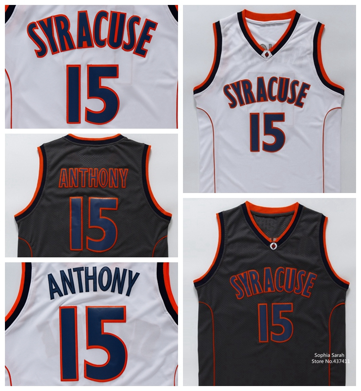 syracuse orange 15 carmelo anthony black jersey c9c47a02b