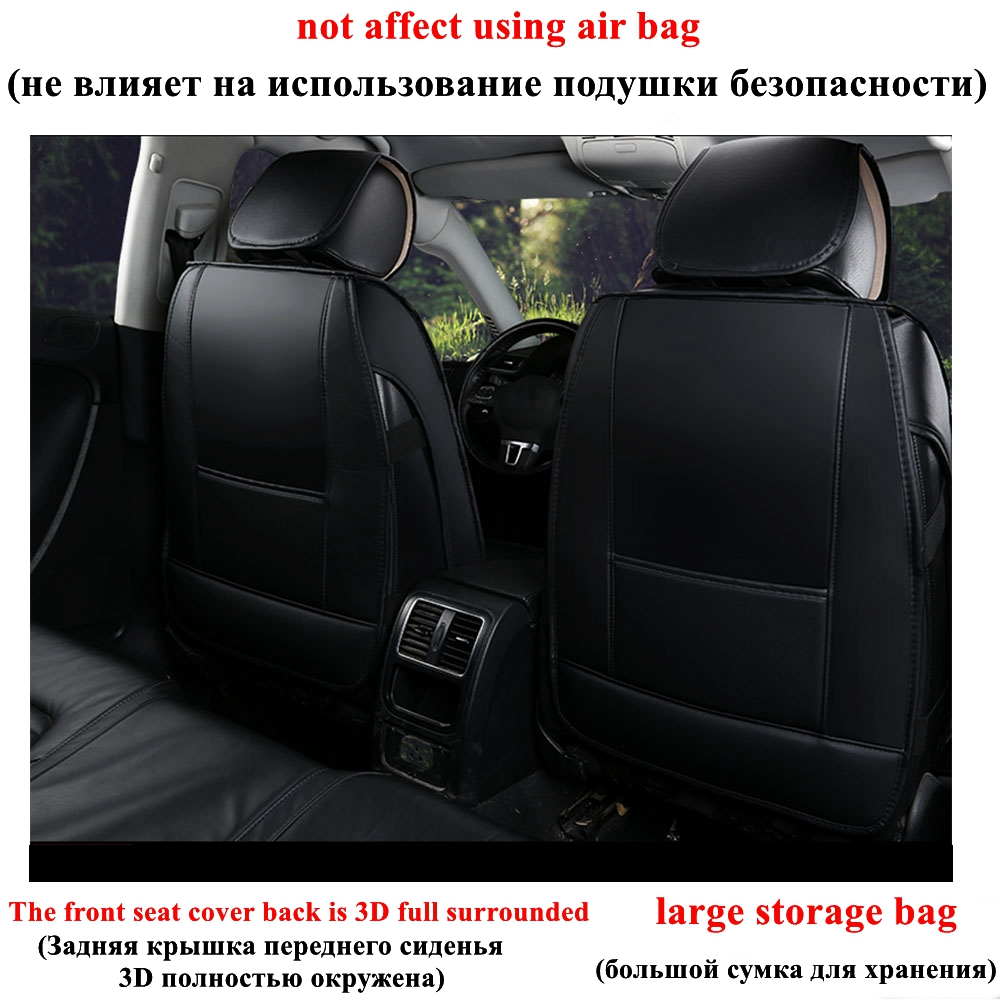 Top Quality Universal MG 6 Heavy Duty Car Seat Covers Protectors 1+1