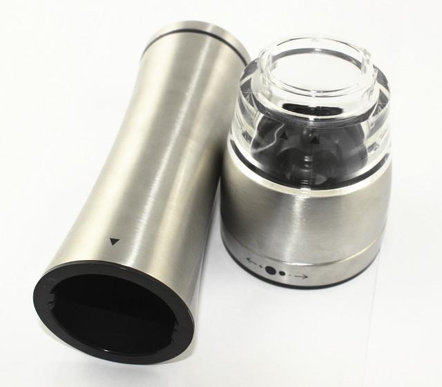 Stainless Steel cooking utensils Salt And Pepper Grinder Set