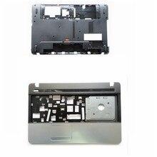 Novo portátil inferior base caso capa/palmrest superior caso capa para acer E1-521 E1-531 E1-571 E1-571G E1-531G ap0n000100