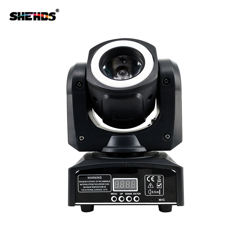 Image 5 - Mini LED 40W Moving Head Spot Beam Stage Lamps Effect Lighting RGBW & Mixed DMX For Professional KTV DJ Disco Bar Night Club-in Stage Lighting Effect from Lights & Lighting