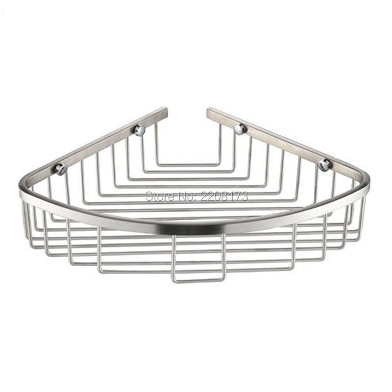 bathroom corner shower basket brushed stainless. Popular Bathroom Corner Shower Basket Brushed Stainless Buy Cheap
