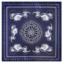 Платок p квадратные шарфы бандана шелковый шарф для женщин 2020