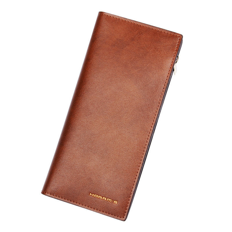 ФОТО Harrms Leather Mens Wallet Luxury Purse Top Designer Wallets Famous Brand Women Wallet Purse 2016 New Arrive