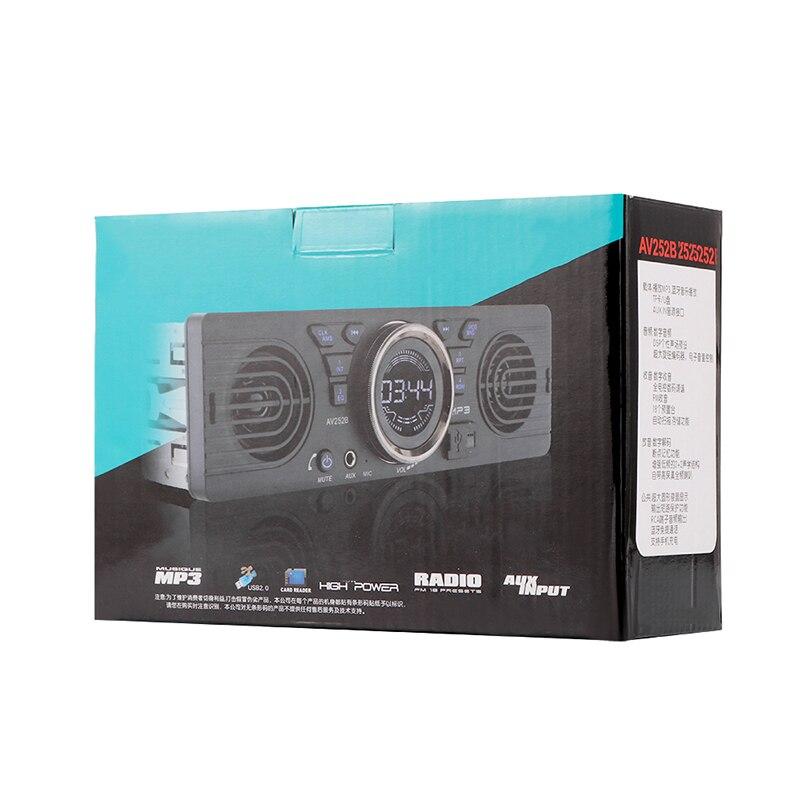 2018 1 Din Car Radio Stereo 12V Auto Audio In-Dash MP3 Player Bluetooth Phone AUX-IN MP3 FM USB Remote Control Auto Radio