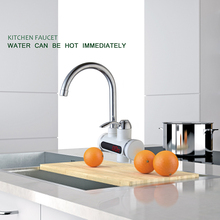 RU Electric Water Heater Instant Hot Water Faucet Cold Water Heater Faucet Water Heater Kitchen Faucet Without Instant Tank