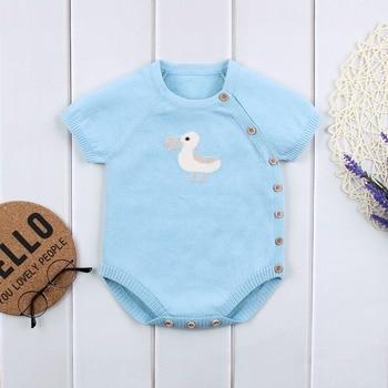 Newborn Baby Bodysuit Unisex - Short Sleeve 0-18M