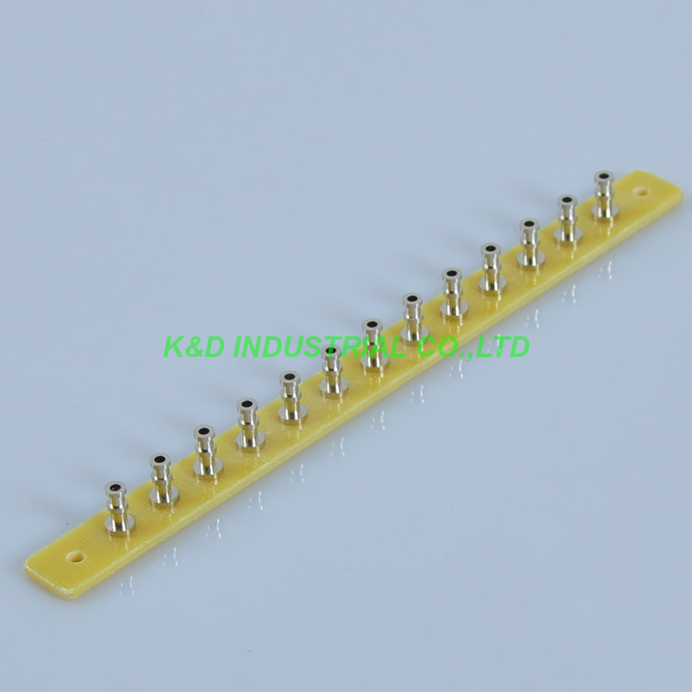 5pcs Fiberglass Turret Tag Board Terminal Strip Audio Tube Amp Part 13 Lug DIY in Electrical Plug from Consumer Electronics
