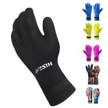 3MM Neoprene Scuba Dive Gloves Swim Snorkeling Equipment Anti Scratch Keep Warm Wetsuit Material Winter Spearfishing
