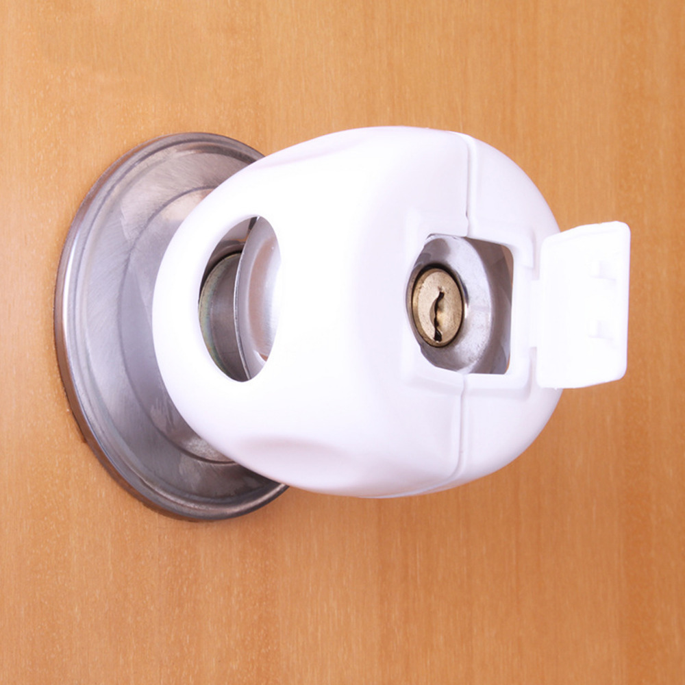 Door Round Knob Silicone Safety Cover Doorknob Guard Protector Baby Protector Child Protection Products Anti-collision