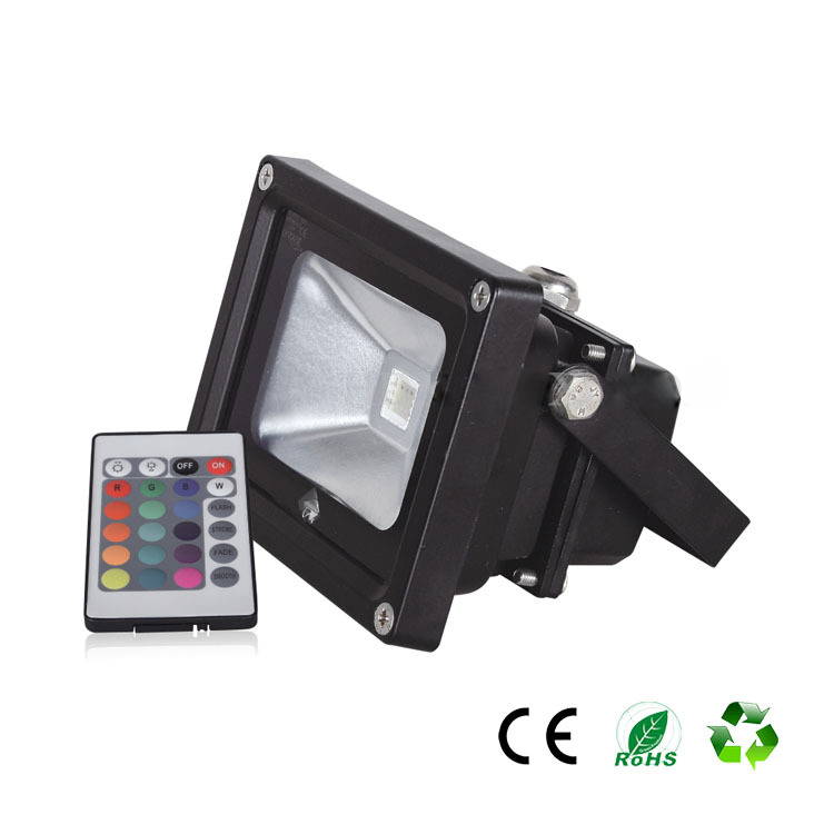 Z Spain Direct Sales LED Colorful Color Cast Light RGB Light Outdoor Waterproof Advertising Stage Remote Control Projection Lamp lelight projection lamp 10w20w30w50w100w outdoor advertising project light water flooding