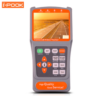 Digital UTP Cable Testing Portable 3.5 Inch LCD CCTV Camera Monitor Test Video Audio Tester NTSC/PAL Automatically Identifying