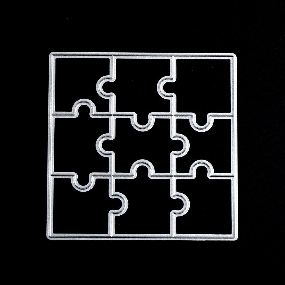 Tienda Online 1 unid 150mm cuadrado rompecabezas corte de Metal ...