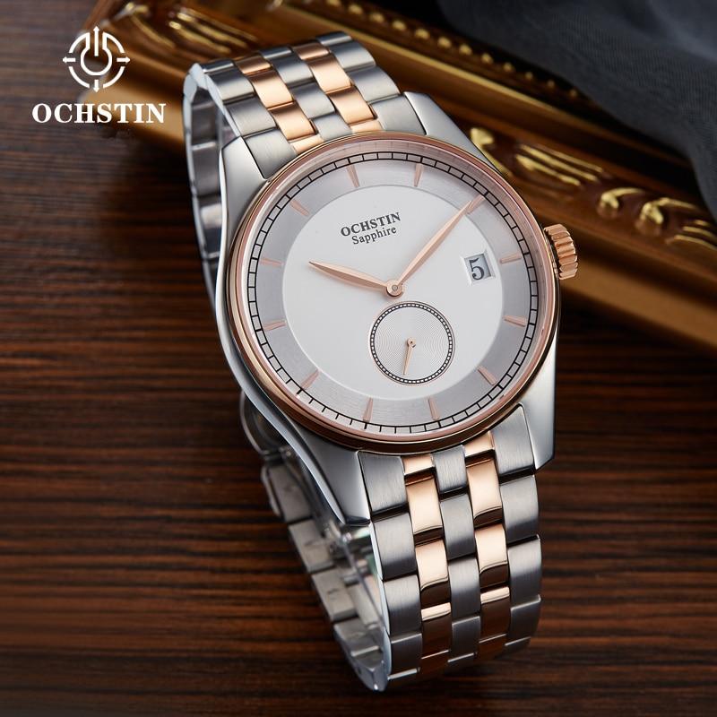 OCHSTIN montres de sport pour hommes montre-bracelet de mode étanche horloge à Quartz mâle nouvelle Date automatique en acier inoxydable Relogio Masculino - 4