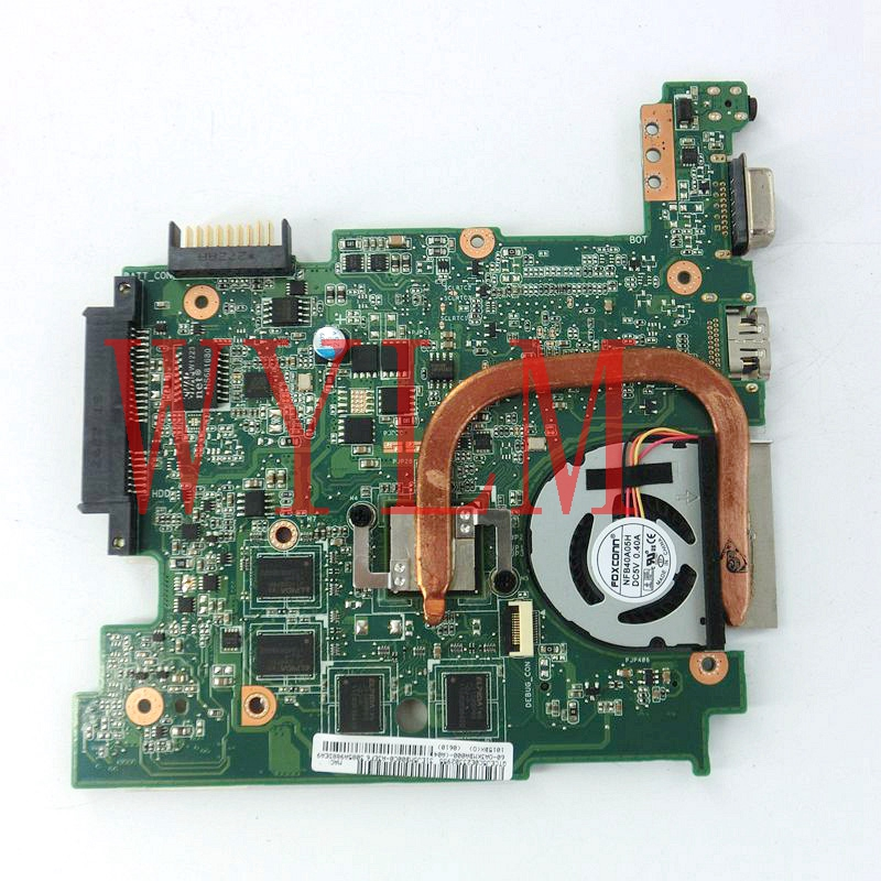 1015BX mainboard REV2.1G For ASUS EEE PC 1015BX Laptop motherboard 100% Tested Working fully tested free shipping anmor make up brushes professional powder duo fibre eyeshadow makeup tool synthetic makeup brushes set with black bag