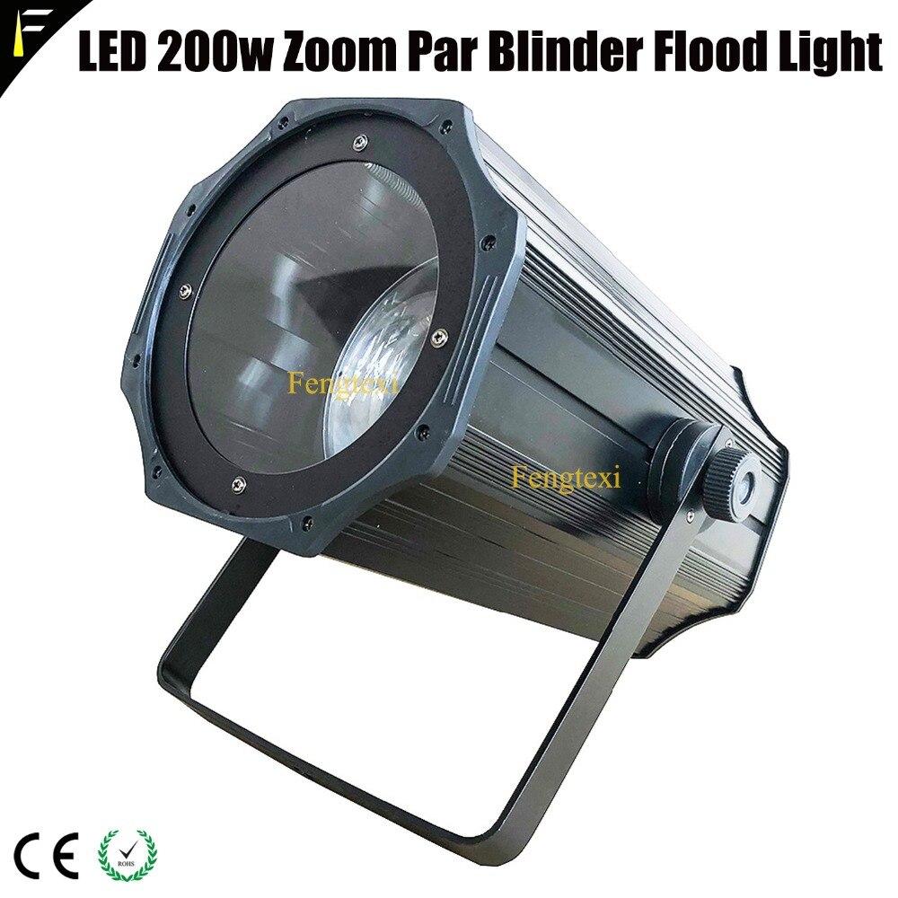 3000 k 5600 k cob 200 w led spot par zoom pode frio quente luz branca