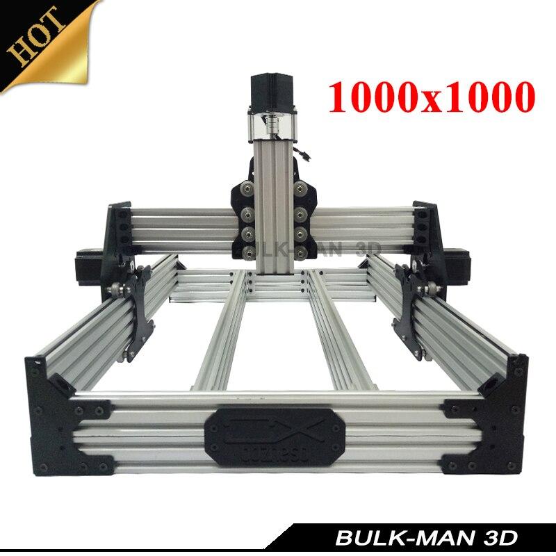 OX CNC Mechanical Kit with 4pcs Nema Stepper Motor for DIY Desktop CNC Router Wood Engrave Machine 1000*1000mm