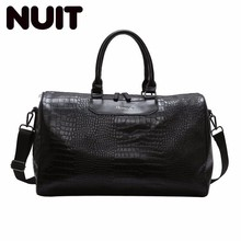 Ladies Large Capacity Travelling Bags Duffle Travel Bag Pu Leather Carry-on Luggage Organizer Bagsmart Packing Cubes