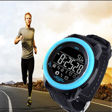 Men Professional UU Sport Smart Watch Outdoor Waterproof Health Monitoring Bluetooth 4.0 Compatible with Android IOS LL