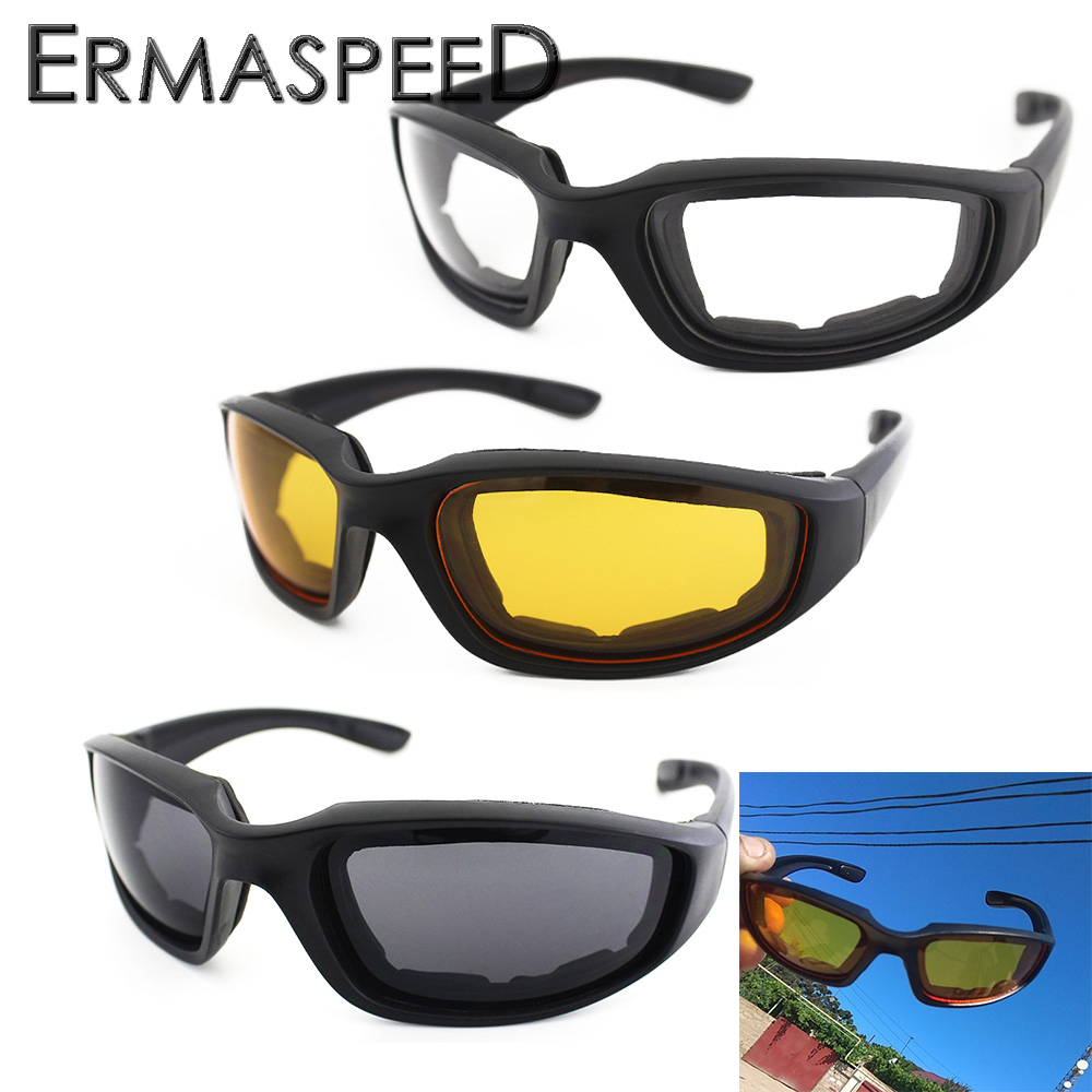 Motorcycle Glasses Army Polarized Sunglasses for Hunting Shooting Airsoft Eyewear Men Eye Protection Windproof Moto Goggles free soldier outdoor sports tactical polarized glass men s shooting glasses airsoft glasses myopia for camping
