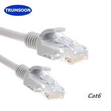 Trumsoon Cat6 Lan Cable RJ45 Network Ethernet Patch UTP Cord for Router PC 1/3/5m