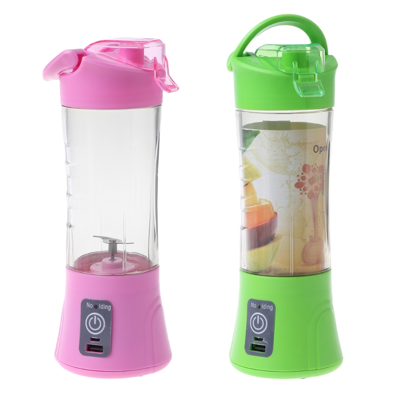 где купить USB Mini Juicer Handheld Extractor Squeezer Smoothie Maker Blender Cup Portable дешево