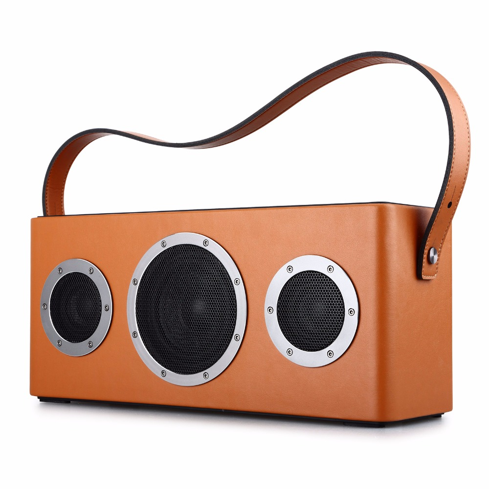 GGMM M4 Altoparlante Portatile WiFi Altoparlante Bluetooth Speaker Colonna HiFi Stereo Audio con Bass per iOS Android Finestre MFi certificato