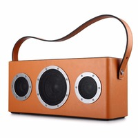 GGMM M4 Portable Speaker WiFi Speaker Bluetooth Speaker Column HiFi Stereo Sound with Bass for iOS Android Windows MFi certified
