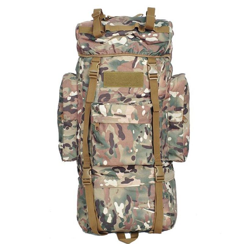 65L 100L militaire tactique sac à dos armée sac Amouflage étanche en plein air Camping sac à dos randonnée escalade sac à dos sac tactique