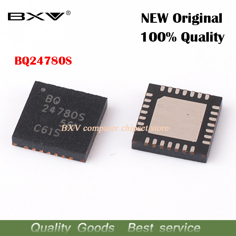 2pcs BQ24780S 24780S QFN New Original Laptop Chip Free Shipping