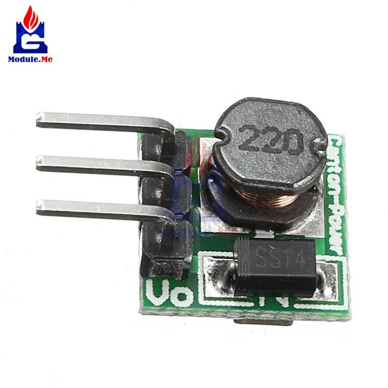 DC-DC dc dc 0.9-3.3 v a 3.3 v intensificam o conversor de tensão do regulador do módulo de potência do impulso para a placa 500ma 150 khz de arduino