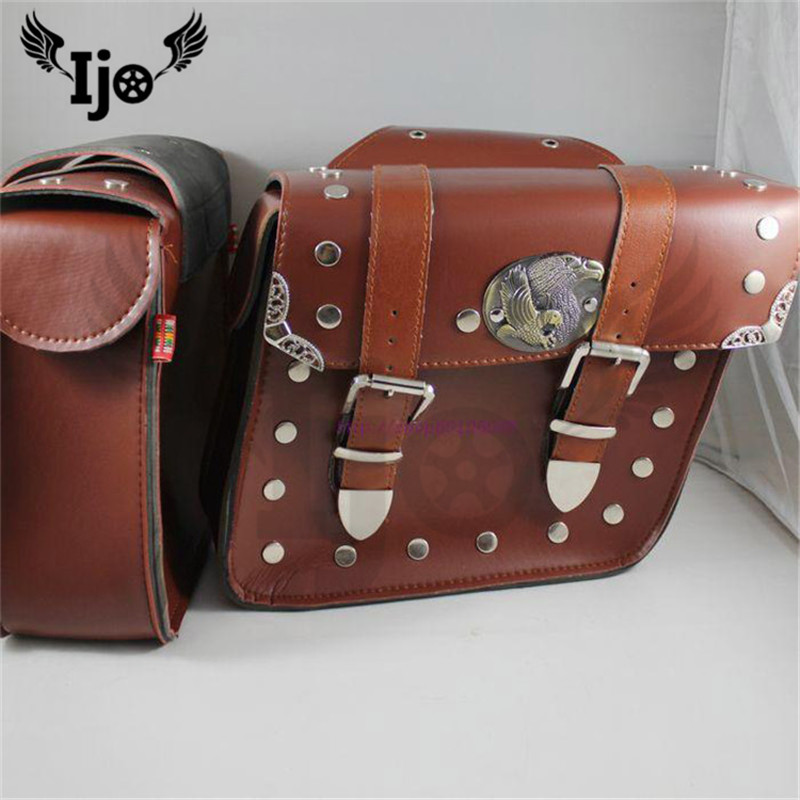 Motorbike satchel Prince modified car cruising car side box side box side bag motorcycle earth eagle king