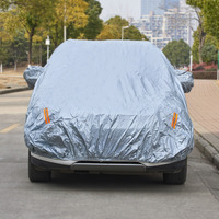 Waterproof Car Cover Outdoor Sun Protection Cover Reflector Dust Rain Snow Protective for Suv Sedan Hatchback Universal Fit