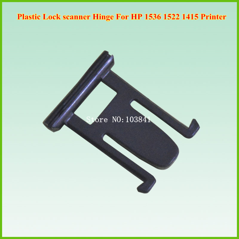 4pcs/lot New Compatible Plastic Lock for HP 1536 1522 1415 Printer ADF Scanner Hinge Sub Assy compatible new lower roller bushing for hp p1505 50 pcs per lot