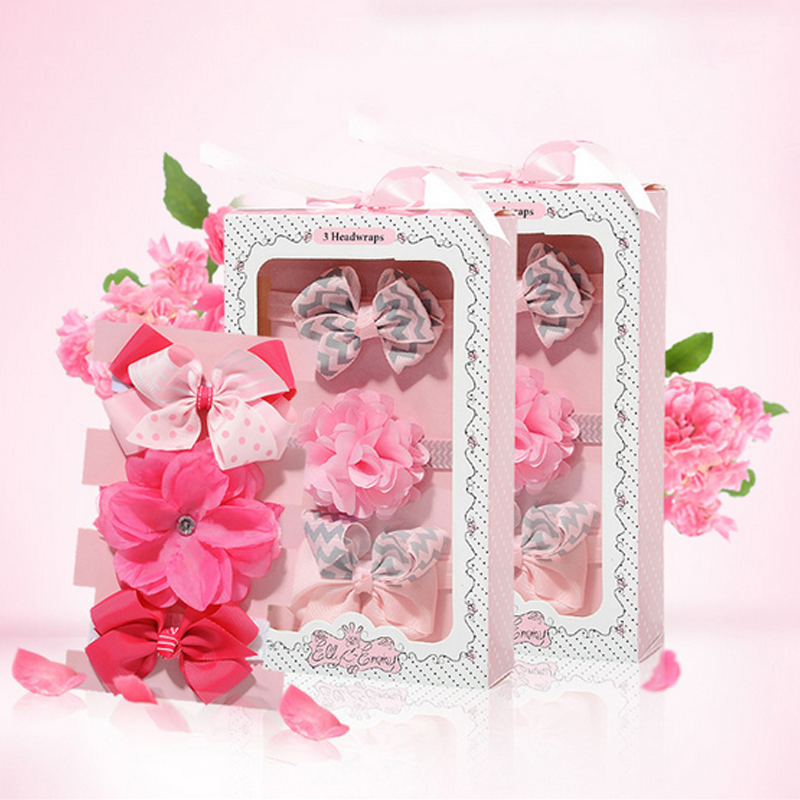 Buy F01 Baby Girls Toddler Newborn Flowers Print Floral Butterfly Bow Hairband Turban Knot Headband Hair Band Accessories 3pcs/set for $4.65 in AliExpress store