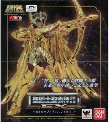 BANDAI MODEL Kit model toy saint seiya sagittarius Aioros Aiolos myth cloth ex2.0 gold anime marvel action figures toy model fans free shipping qq model sagittarius aiolos saint seiya ex 2 0 gold saint 80% metal cloth form with effects pieces