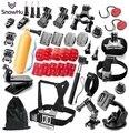 SnowHu Gopro accessories Set monopod case Octopus tripod bike mount helmet arm for Go pro hero5 5S 4 3 sjcam sj4000  M10 GS44
